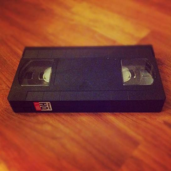 Jeg fikk endelig digitalisert siste rester av VHS-kasetter.
