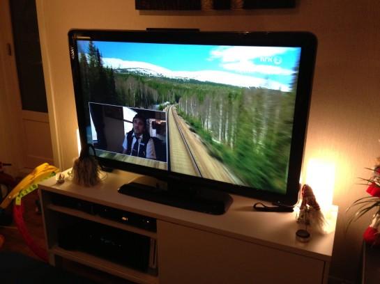 Mot slutten av året tok jeg toget til Bodø.